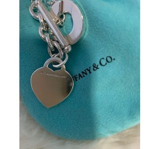 Tiffany & Co. Jewelry - Tiffany Heart toggle bracelet